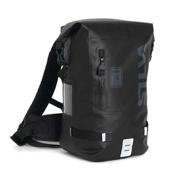 Silva Acces 18WP svart vattentät TPU ryggsäck