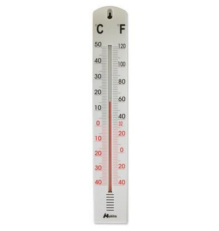 160 mm plastomgivande termometer