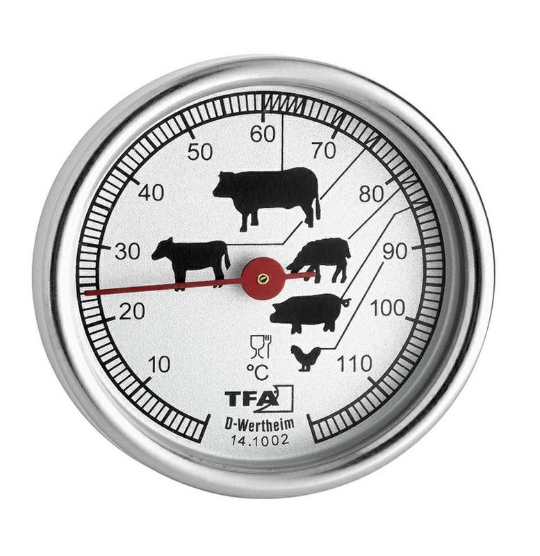 Termometro Inox Para Carne Raig Termómetro para carnes acero inoxidable cocina horno. termometro inox para carne