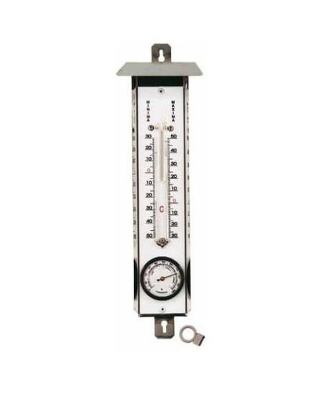 Termometro A Mercurio Massimo E Minimo In Acciaio Inossidabile Con Igrometro E Cappuccio Raig En este tutoría te muestro como se debe medir la temperatura corporal y así mismo cuales son los grados de temperatura corporal, y como saber cuando es que. termometro a mercurio massimo e minimo in acciaio inossidabile con igrometro e cappuccio